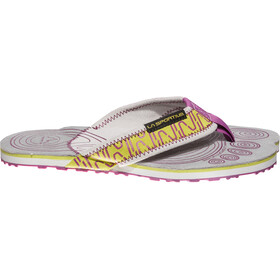 La Sportiva Swing Sandalias Mujer, purple/apple green